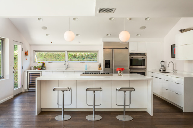 Los Angeles 1 Midcentury Kitchen Los Angeles By