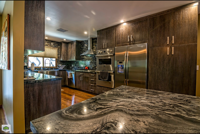 los angeles contemporary home remodeling transitional kitchen