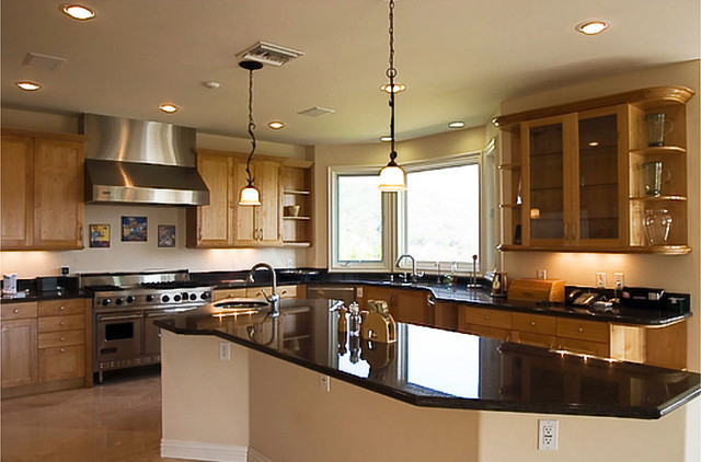 Los Angeles Custom Home by Mega Builders traditional-kitchen