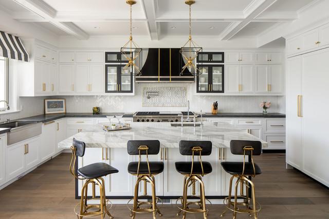 Los Angeles Elegance transitional-kitchen