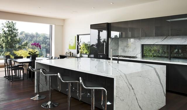 Los Angeles Hills Modern Kitchen modern