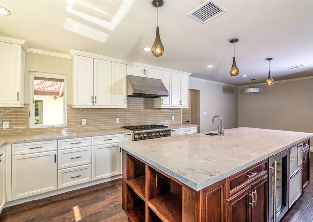 los angeles home remodeling transitional kitchen