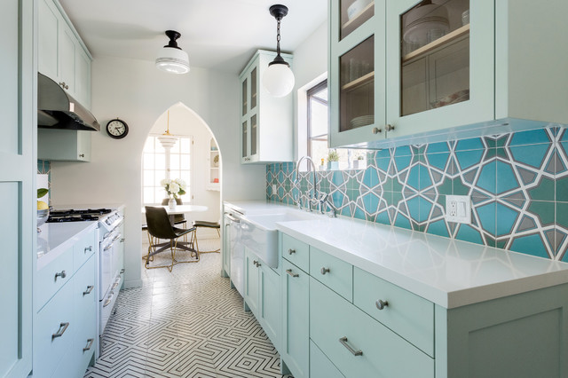 5 Great Looking Galley Kitchens That Really Cook