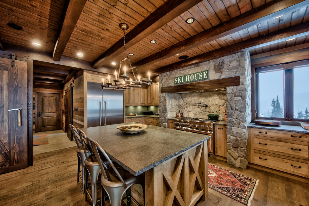 Lottinville Residence - Rustic - Kitchen - Vancouver - by ...