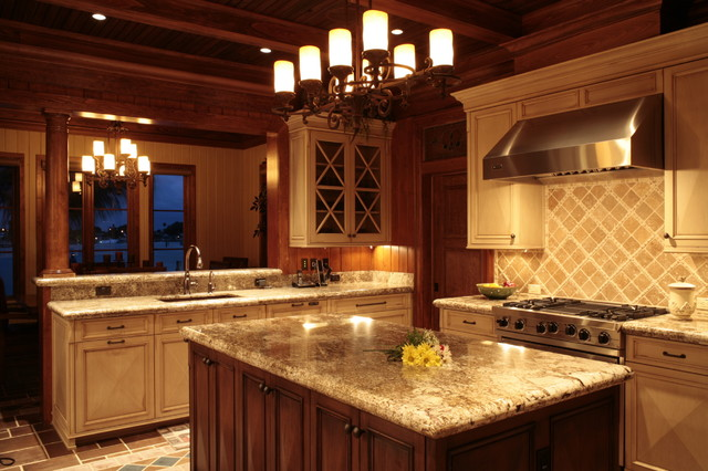 Loughery Residence traditional-kitchen