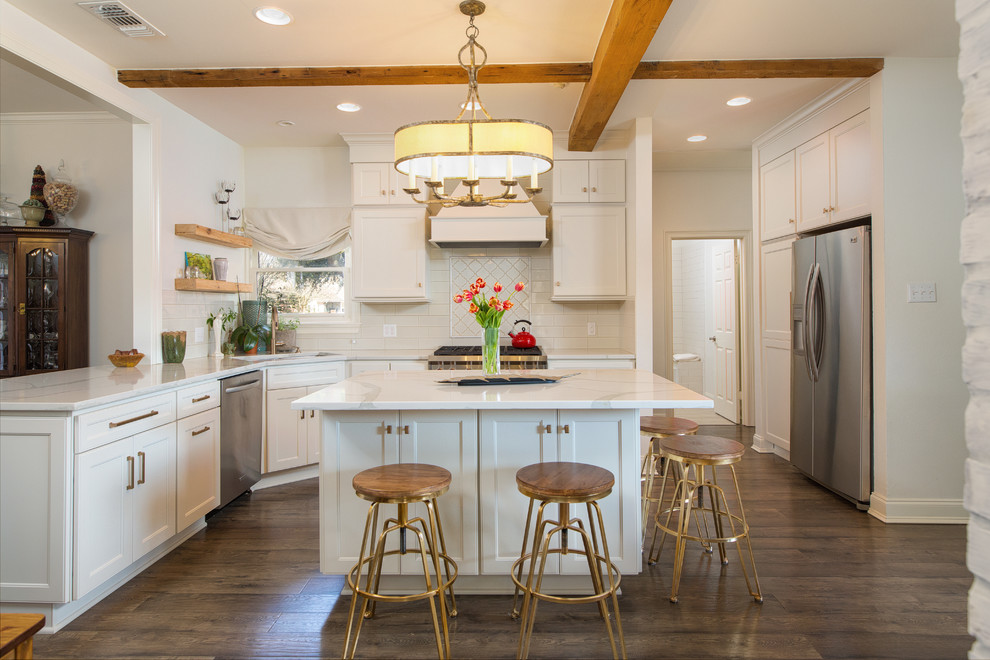 Louisiana Modern Traditional Remodel - Farmhouse - Kitchen ...