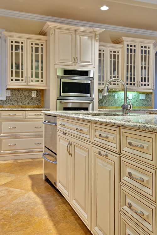 Traditional Kitchen by Tyrone Kitchen & Bath Designers Turan Designs, Inc.