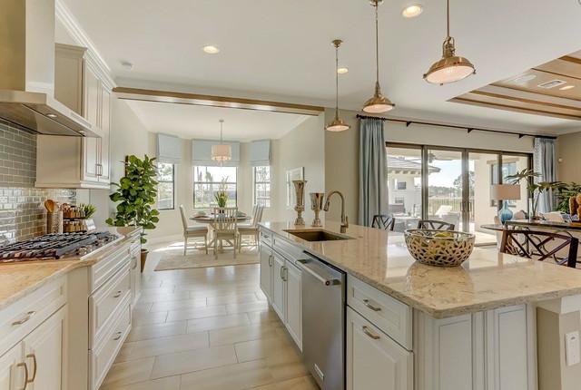 Lovely Pinehurst Model Home In Naples FL Transitional Kitchen Other