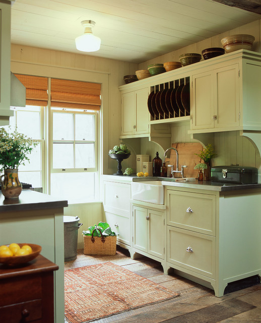 Lowcountry carriage house traditional kitchen by for Carriage house kitchen cabinets