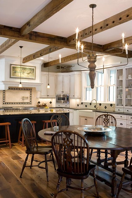 Lowcountry Residence traditional kitchen