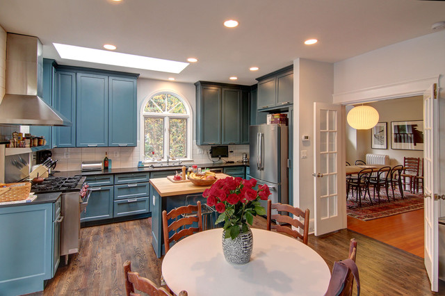Lowell Street eclectic-kitchen