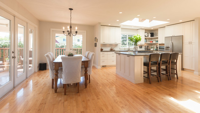 Amazing raised ranch kitchen that is boasting with natural for Kitchen remodel raised ranch