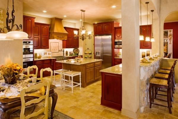 Lucca Kitchen By Sitterle Homes Mediterranean Kitchen