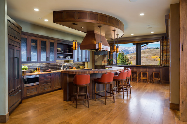 Lucky 13 - Jackson, WY - Rustic - Kitchen - Jackson - by Montana ...