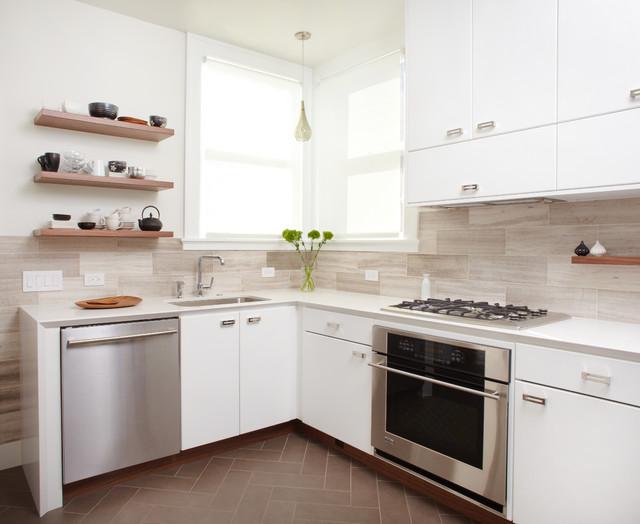 Attirant Lucy McLintic Contemporary Kitchen