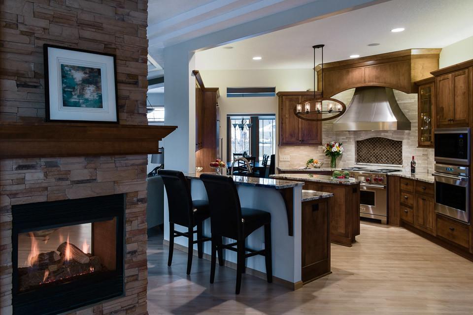 Lukewood Kitchen Chanhassen - Rustic - Kitchen ...