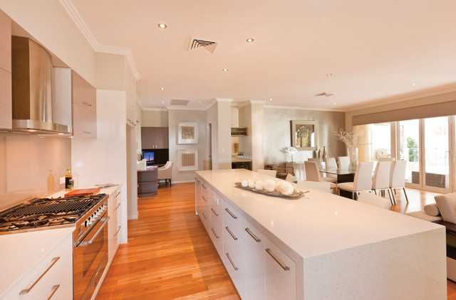 Lumiere display home modern kitchen perth by for Display home kitchens
