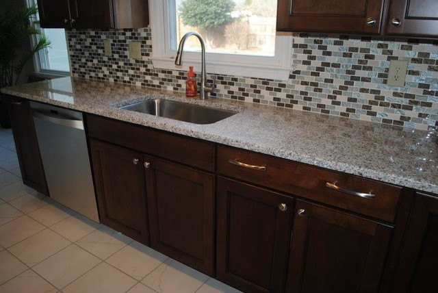 Luna Pearl Granite Undermount Stainless Sink With Kohler
