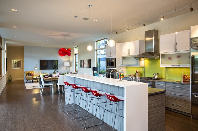 Luxe Model contemporary-kitchen