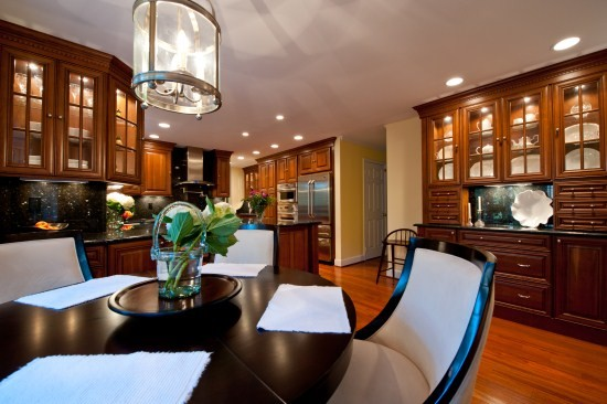 Luxurious Gourmet Kitchen in Fairfax Station Combines Beauty and Function traditional-kitchen