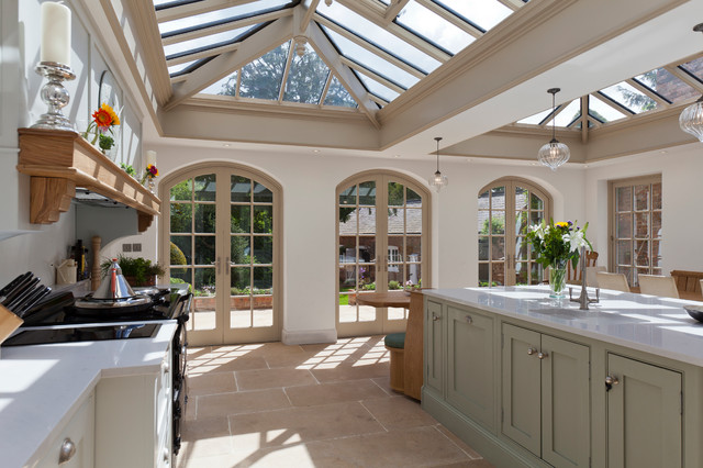 Luxurious Kitchen Diner Conservatory Traditional Kitchen Other By Vale Garden Houses