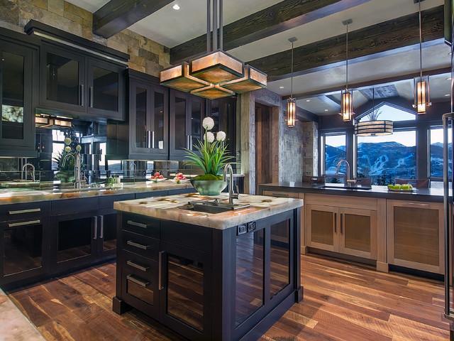 Luxurious Residence - Kitchen contemporary-kitchen