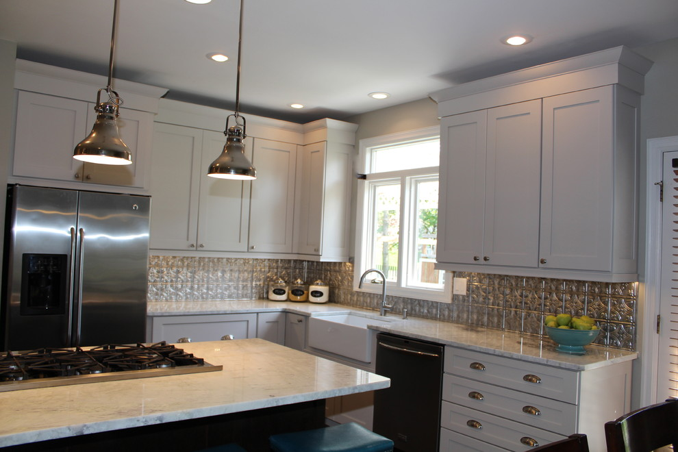 Luxuriously Spacious Living - Transitional - Kitchen ...