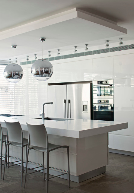 Luxury Apartement In Tel Aviv Contemporary Kitchen