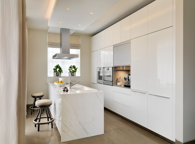 Luxury Apartment Contemporary Kitchen Cheshire By