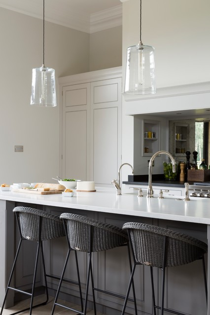 Luxury Bespoke Kitchen The Grange Ascot Berkshire Transitional Kitchen Essex By