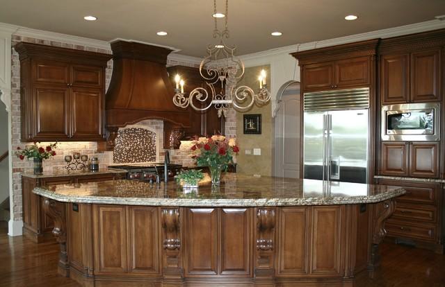 luxury custom kitchen design traditional kitchen