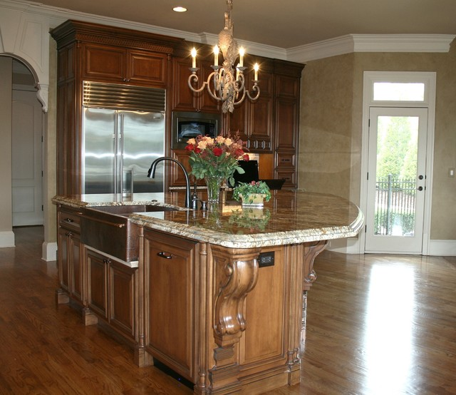Luxury Home Kitchens: Luxury Custom Kitchen Design
