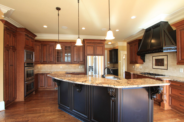 Luxury Custom Kitchen Design traditional-kitchen