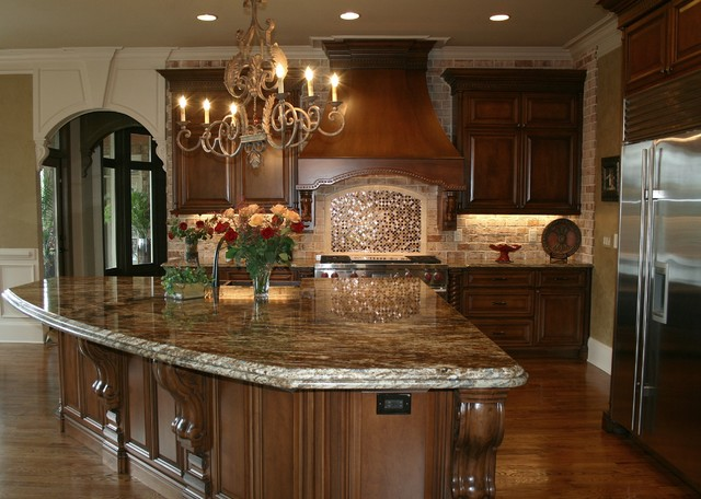 Luxury custom kitchen design Custom kitchens pictures