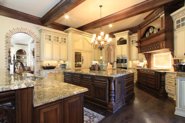 Luxury custom kitchen design for Custom kitchen remodeling