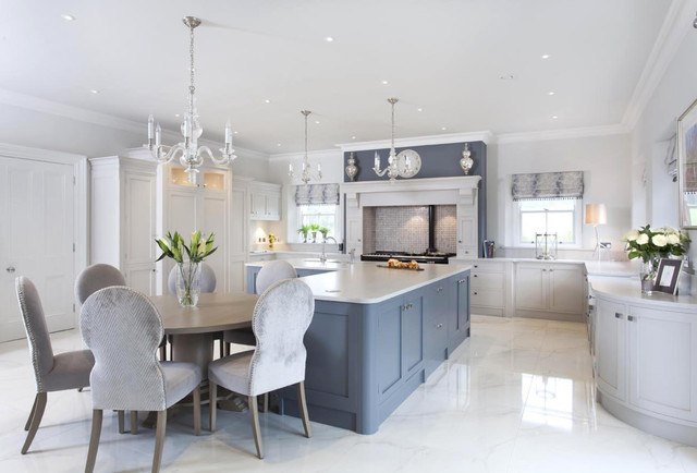 Luxury home furniture traditional kitchen northern for Traditional kitchens ireland