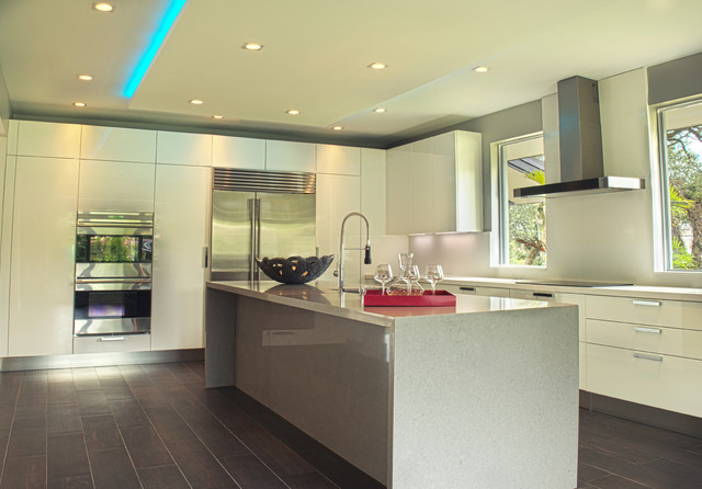 Luxury Home Staging  Coral Gables  Contemporary  Kitchen  miami