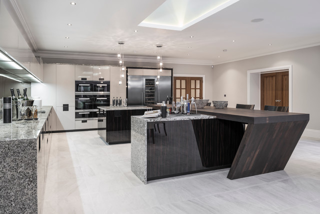luxury house in buckinghamshire contemporary kitchen