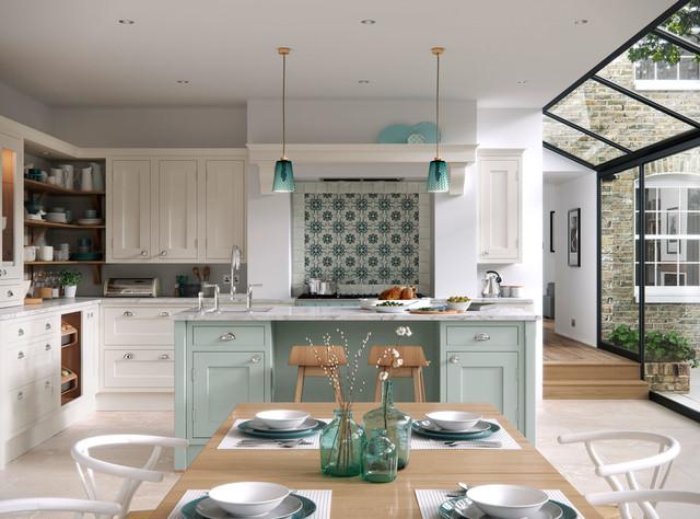 Luxury In Frame Kitchen Country Kitchen Manchester