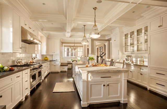 Luxury Kitchen - Transitional - Kitchen - New York - by Garrison ...