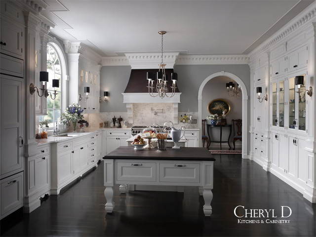 Luxury Kitchens - Traditional - Kitchen - chicago - by Cheryl D & Company