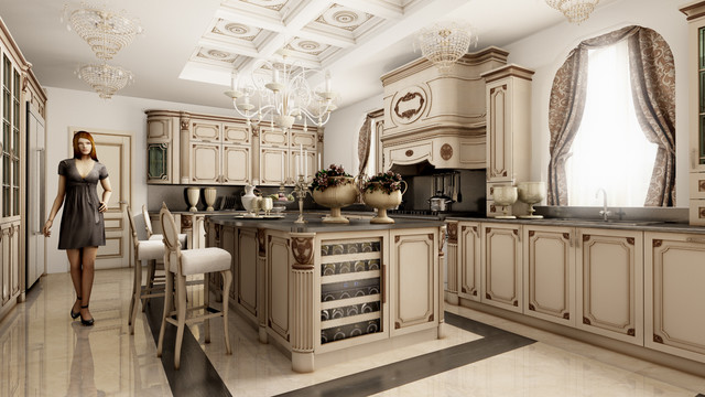 Luxury living by martini mobili   traditional   kitchen   other ...