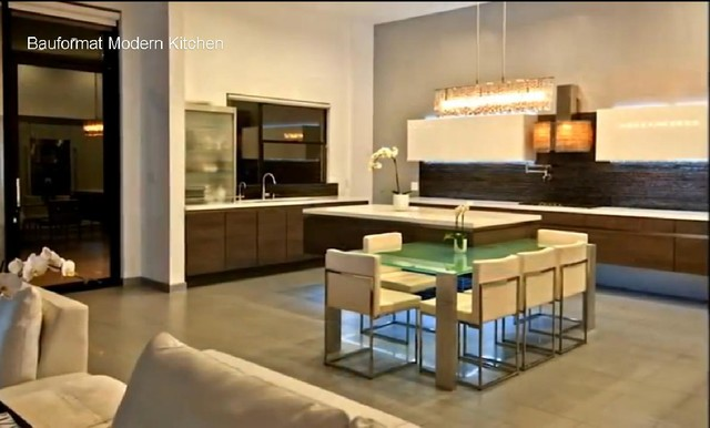 Luxury modern house in hollywood hills contemporary for Luxury contemporary kitchens