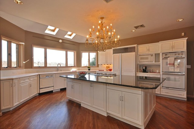 Luxury Residential Home Staging traditional-kitchen