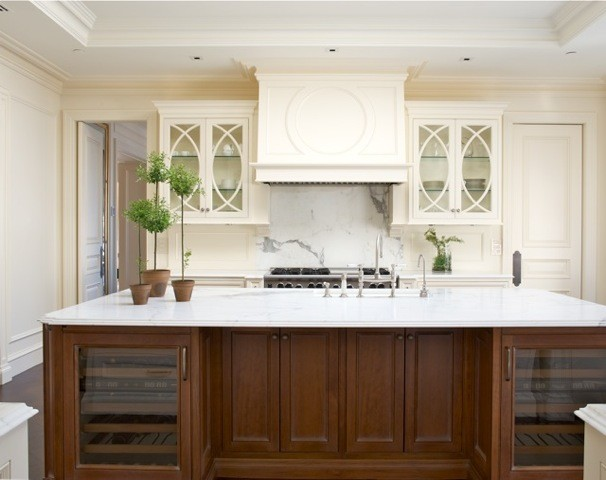 Private residence traditional-kitchen