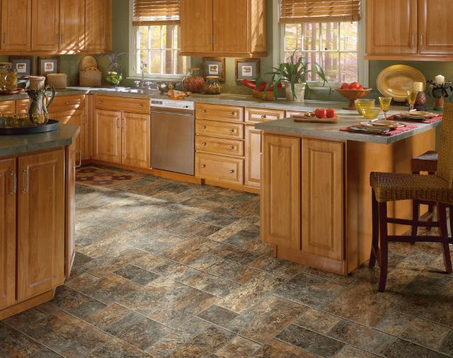 Luxury Vinyl Flooring Gallery Craftsman Kitchen