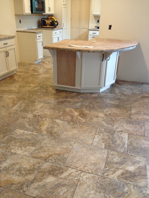 Vinyl Kitchen Flooring Part - 36: Luxury Vinyl Traditional-kitchen
