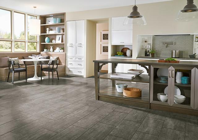 Luxury Vinyl Tile Kitchen