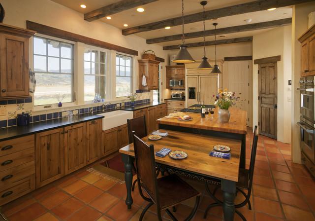 Lynne Barton Bier rustic-kitchen