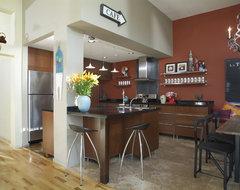 m.a.p. interiors contemporary-kitchen